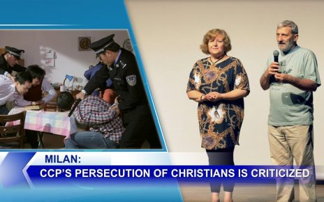 Milan: CCP's Persecution of Christians Is Criticized