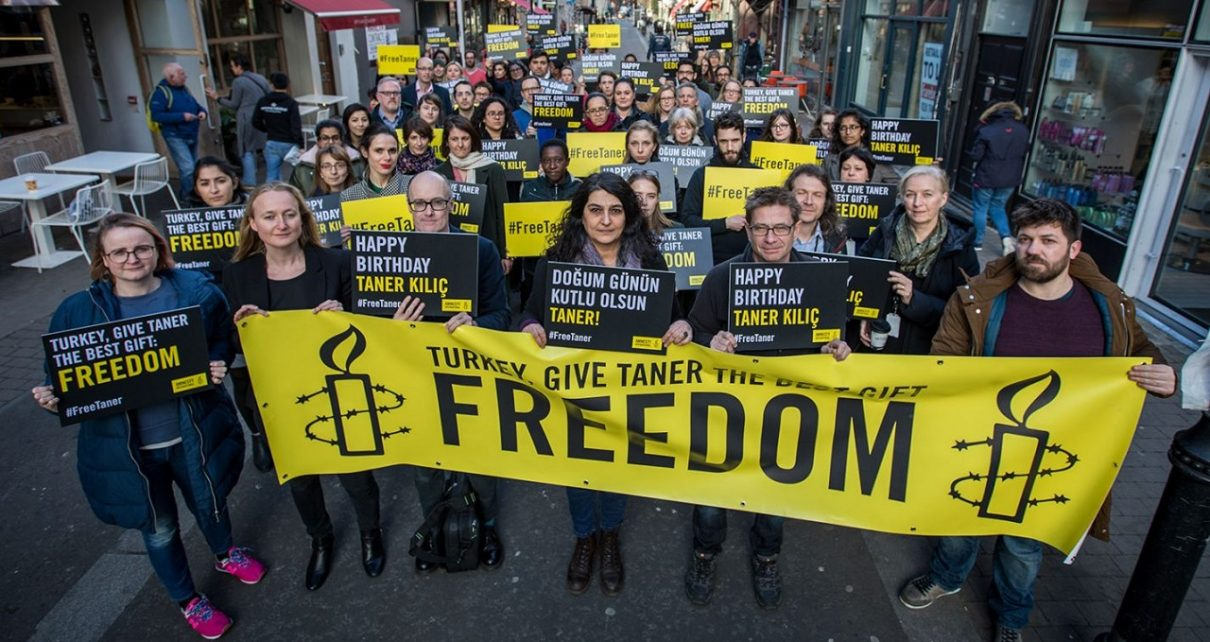 AMNESTY TURKEY'S TANER KILIÇ: A YEAR OF IMPRISONMENT