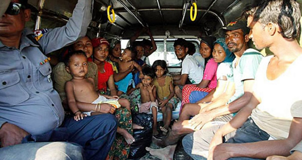 Myanmar Authorities Detain Rohingya Rescued From Boat Headed to Malaysia