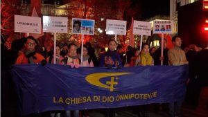 "Milan, CAG Exiles Take to the Streets to Say ""Enough"""