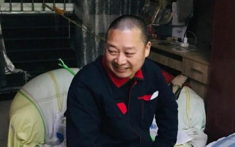 Undated photo of activist Chen Yunfei, who was taken away by state security police from his home in Sichuan's provincial capital Chengdu Sept. 19, 2019.
