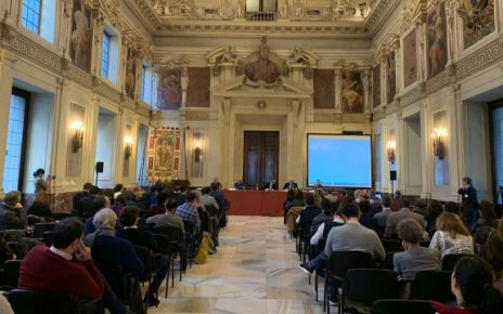 The conference in the Sala Alessi