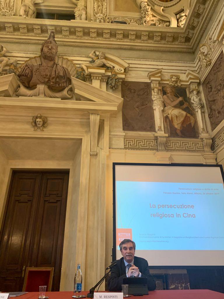 Marco Respinti's speech.