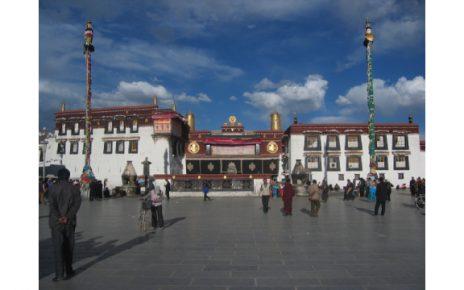Jokhang Temple in Tibet